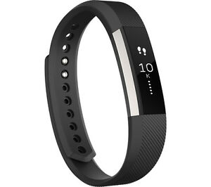 FITBIT Alta Fitness Tracker Black with Touchscreen & Splashproof Small Size