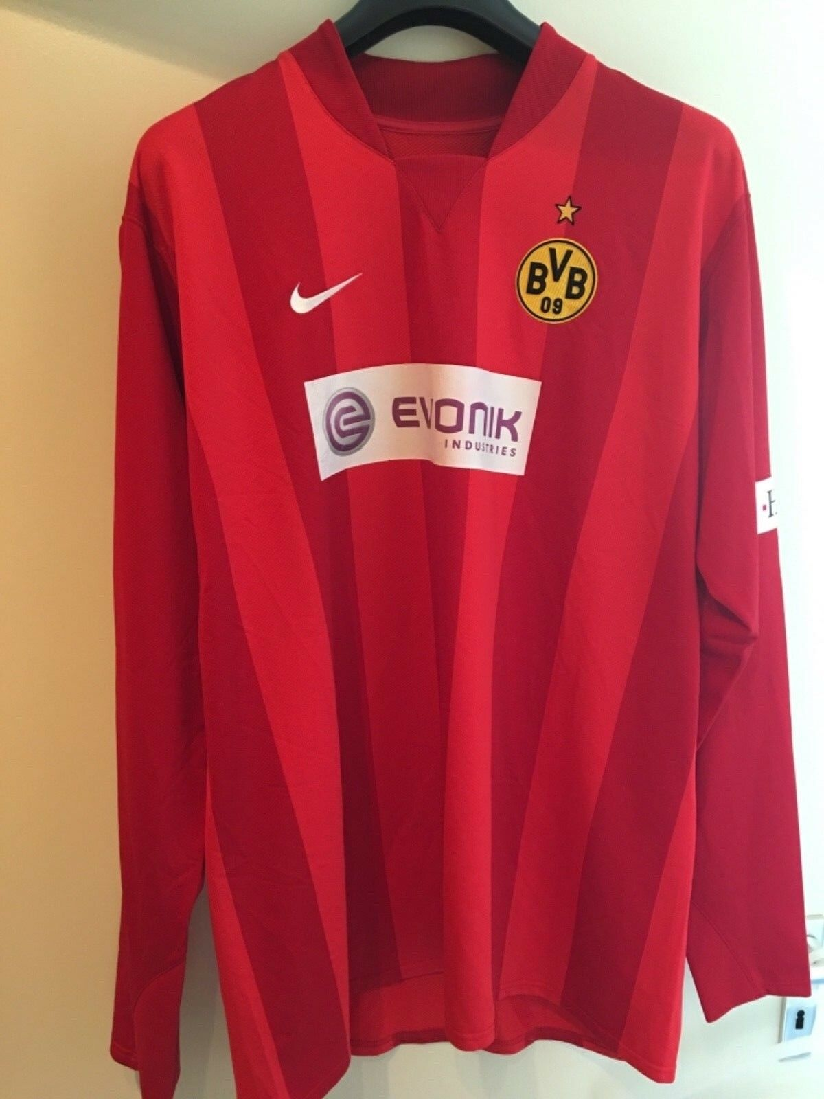 Borussia Ziegler Dortmund BVB Matchworn Torwart Trikot 2007/2008 Bundesliga Marc Ziegler Borussia 41d000