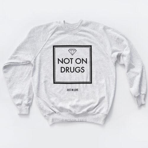Pas sur les drogues Diamond Tove Lo Sweat-Shirt Indie Selfie planche de surf TBT Sweat