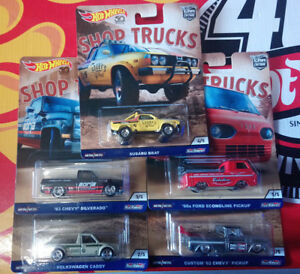 Hot-Wheels-Car-Culture-Shop-Trucks-Choise-Choix-lot-ou-a-l-039-unite-N24