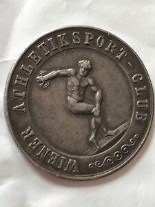Athletik Sports Club Winners Medal 27. XI. 1910