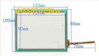 "New 5.8"" Touch Screen Glass For Tr4-058f-16 Dg 133*109 J0523 To Produce An Effect Toward Clear Vision Vehicle Electronics & Gps Consumer Electronics"