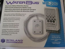 Winland Water Bug Sensor & Probe WB-200 WB200 WSU Alarm System Flood Sensor NEW