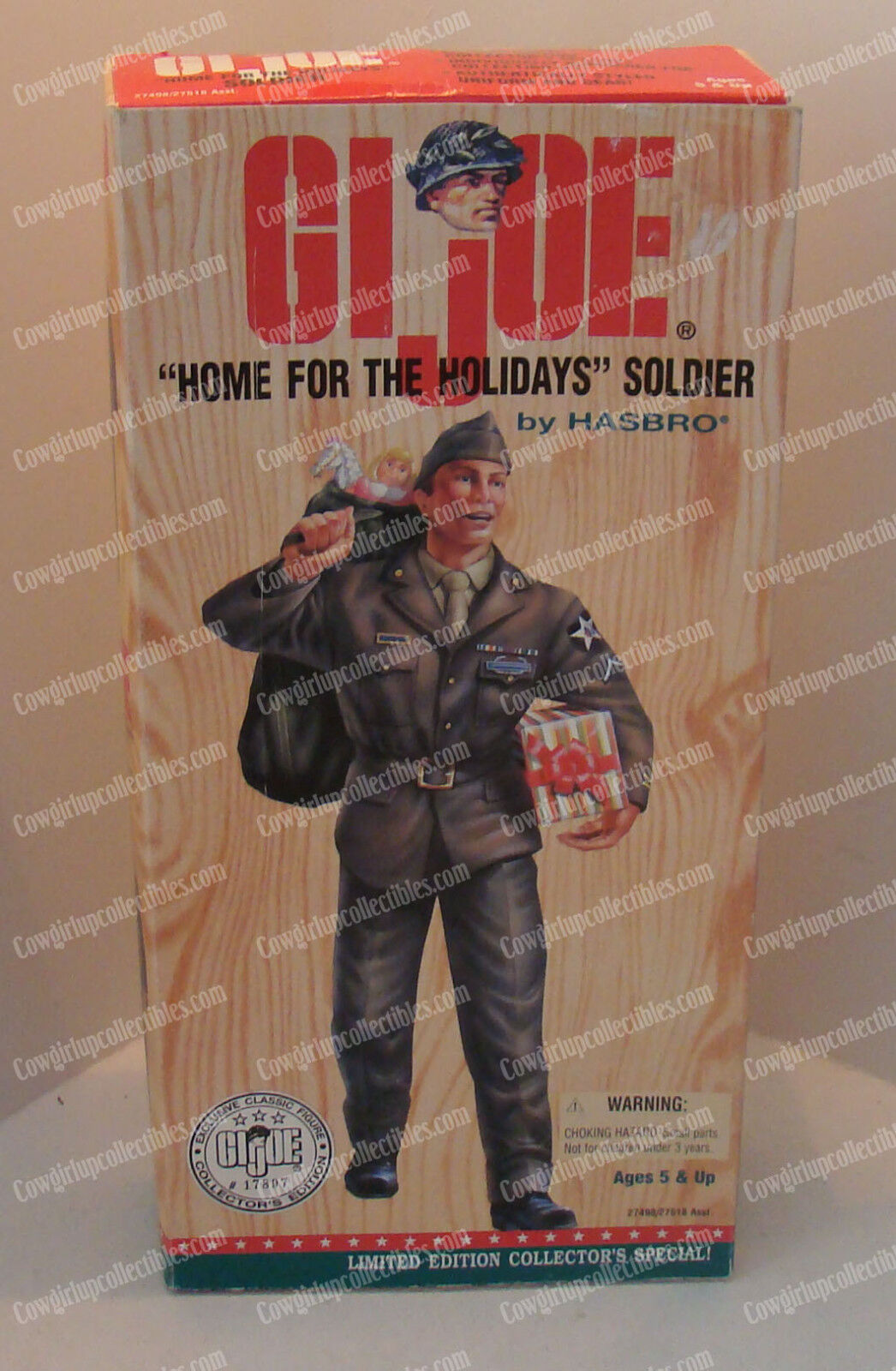 G.I. Joe Home for the Holidays (by Hasbro, 27498 27518) Soldier, 1996 (12 )