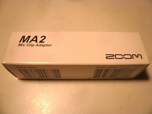 Zoom MA2 Mikrofon Clip Adapter Stativ Sich Mikrofonständer Für Handy Recorder F