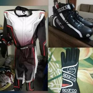 All in One CIK//FIA LEVEL II APPROVED KARTING SUIT Shoes /& Gloves