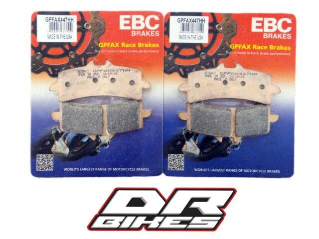 Ducati 1098 2007 2008 EBC GPFAX Front Brake Pads GPFAX447HH