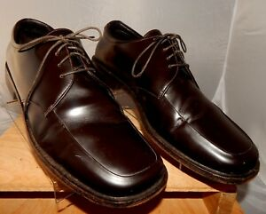 6ccb7373e17 PRADA MEN S SPAZZOLATO PLAIN TOE DERBY OXFORDS DRESS SHOES SIZE 9 ...