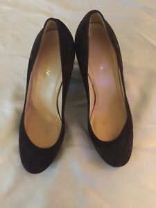 1fb3f584ecb9 Kate Spade New York Women s Vero Cuoio Leather Suede Black Shoe Size ...
