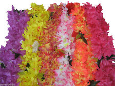Hawaiian Polynesian Hawaii Hibiscus Lei Flower Luau Assorted Colors