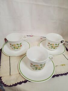 Corelle-Strawberry-Sunday-Cups-amp-Saucers-Set-Of-3
