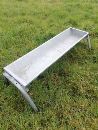 FREE POSTAGE 4/' hot dipped galvanised sheep//calf//pony//goat trough