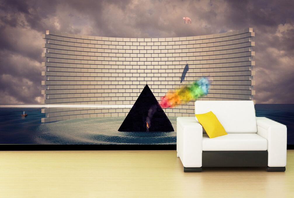 3D Raumgestaltung 9887 Fototapeten Wandbild Bild Tapete Familie Kinder