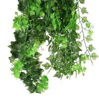 Beautiful Manmade Ivy Leaf Garland Plants Vine Foliage Flowers Home Decor Us