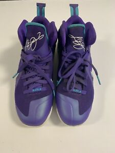 88564f4efe4c Image is loading Nike-Lebron-9-Summit-Lake-Hornets-Size-7