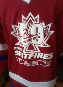Game-worn-Windsor-Jr-Spitfires-50th-Anniversary-jersey-OHMA