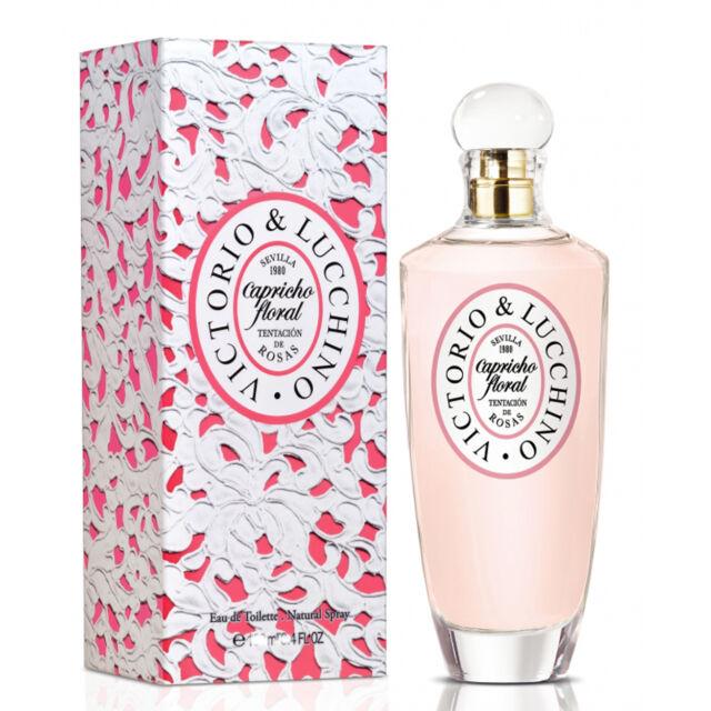 CAPRICHO FLORAL TENTACION DE ROSAS  VICTORIO & LUCCHINO  Colonia  Perfume 100 mL