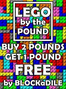 1-Pfund-Lego-vom-LB-Ziegel-Fliesen-Bloecke-kaufen-2-LBS-Get-1-Free