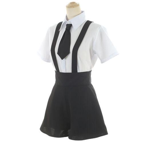 Anime Houseki no Kuni Diamond Bort Summer Sailor Uniform Cosplay Costume