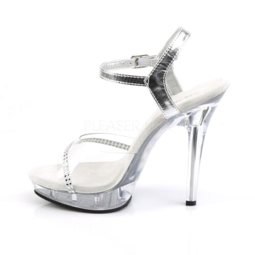 PLEASER FABULICIOUS LIP-108R POLE DANCING COMPETITION STILETTO SANDALS SHOES