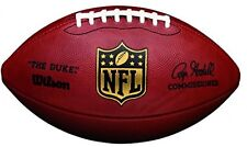 OFFICIAL Wilson 'The Duke' NFL Football Game Authentic American Ball New