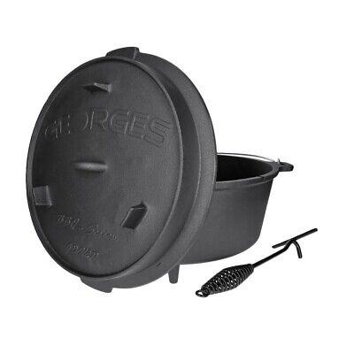 Premium Dutch Oven mit Füßen versch. Größen