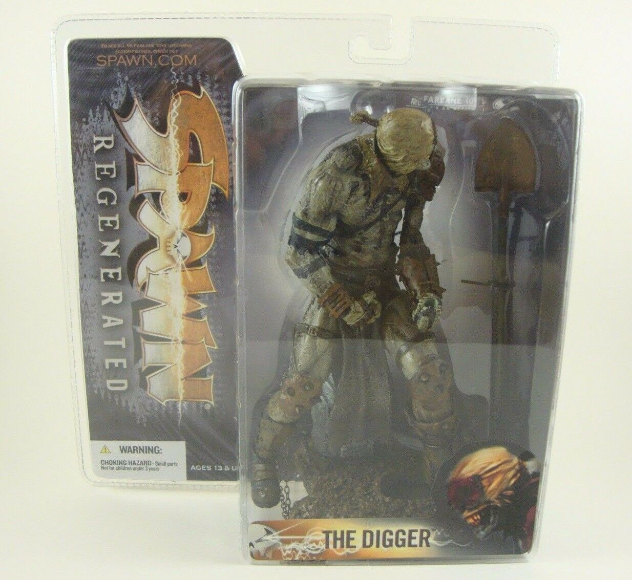 McFarlane Toys Spawn Series 28 Grave Digger Digger Digger VARIANT Action Figure MIB New Sealed b63435
