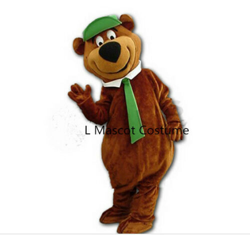 Brown Bear Mascot Costume Suits Cosplay Party Game Dress Outfit Halloween Adults