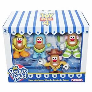 Disney-Toy-Story-4-Sr-Potato-Head-Mini-Figuras-4-Paquete-de-Accion-Set