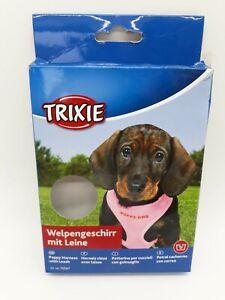 Trixie Welpen-Softgeschirr mit Leine, Hundegeschirr, Hundeleine, Welpengeschirr
