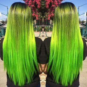 Image Is Loading Pravana Chromasilk S Neon Green Free Shipping