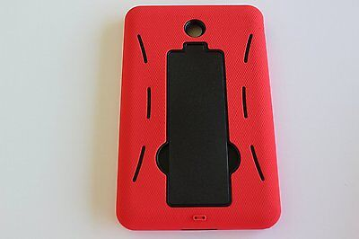 Rugged Armor Hybrid Kickstand Stand Case Cover For DELL VENUE 7 INCH TABLET RDBK