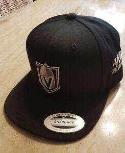 Image is loading Vegas-Golden-Knights-Yupoong-FlexFit-Classics-Black-Hat- 19d04038cc86
