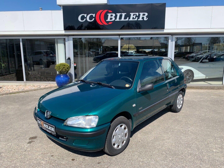 Peugeot 106 1,1 Zen 3d - 9.900 kr.