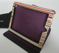 Paul Smith Ipad Case Black With Stripe Interior For 2nd & 3rd Generation Ipad