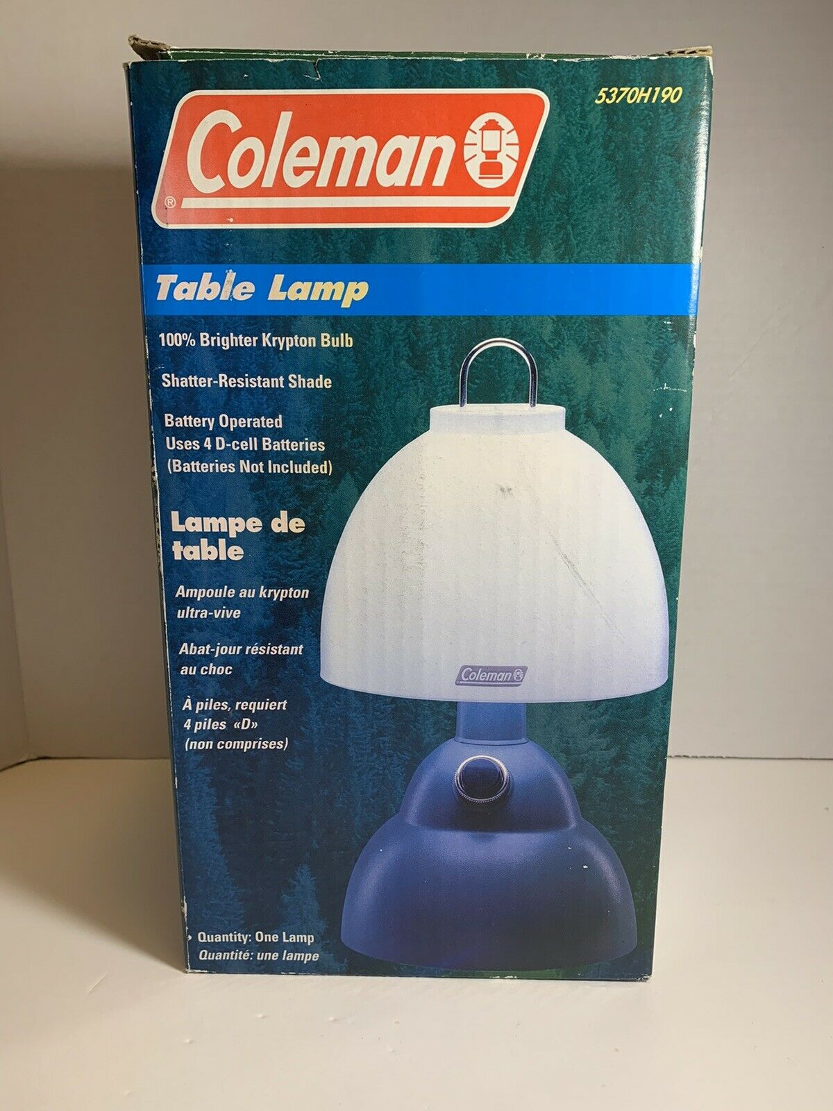 Picture of: Coleman Camping Table Lamp Battery Operated Krypton Bulb 5370h190 For Sale Online Ebay