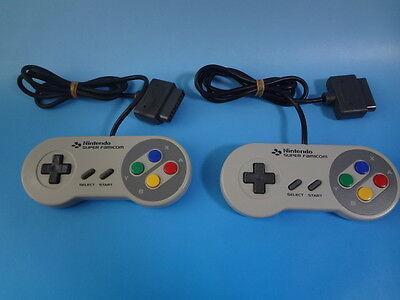 Nintendo SNES controller SHVC-005 2 piece set  Japan