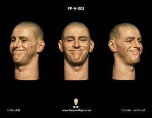 1//6 Soldier Male Head Sculpt Expression for 12/'/' Figure HOT TOYS FP-H-002