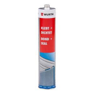 Wurth-Bond-amp-Seal-BLACK-Adhesive-Sealant-Metal-Plastic-Liner-Repair