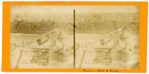 Stereo-France-Tours-Pont-de-Guise-circa-1870-Vintage-stereo-card-Tirage