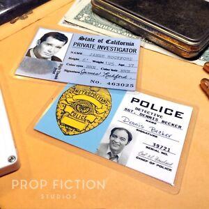 Rockford-Files-Rockford-PI-Investigator-Licence-amp-Becker-Prop-Police-ID-Cards