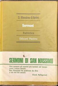 SERMONI PATRISTICA - S. MASSIMO DI TORINO - PAOLINE