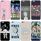 Coque Rick and Morty Cartoon TV Series  Hard Case  All Iphone 4 5 5s 5c 6 7 7+