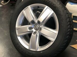 4X-NEW-GENUINE-18-034-TRANSPORTER-2019-ORIGINAL-DIESEL-VW-ALLOYS-HANKOOK-TYRES