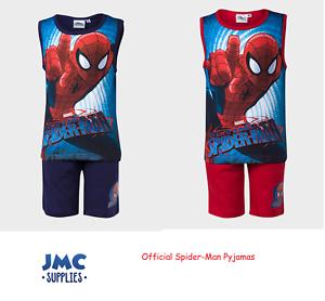 Spiderman Boys Onesie Pyjamas with Hood 3-8 Years