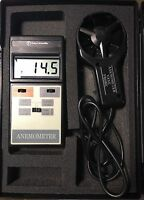 Fisher Scientific 01-241 Outside Air Velocity Anemometer + Probe In Case