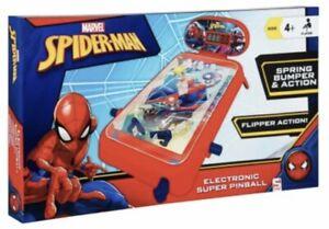 New Ultimate Spider-Man Pinball Game Marvel Spiderman Childrens Pinball Machine
