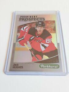 2019-20-Parkhurst-Jack-Hughes-Rookie-Prominent-Prospects-Rc-New-Jersey-Devils