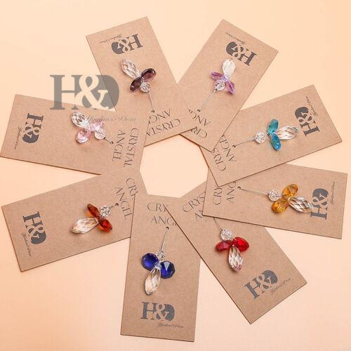 Set 8 Austrian Crystal Guardian Angel Birthstone Suncatcher Rainbow Maker Gifts