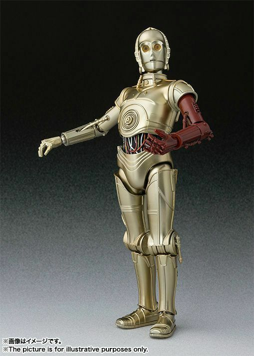 S.H.Figuarts Star Star Star Wars The Force Aakens C-3PO BANDAI TAMASHII Comic-Con Limited 03d38e